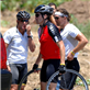 Matthew McConaughey, Lance Armstrong and Jake Gyllenhaal go for bike ride in Malibu, 2006 137875