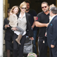 Nicole Kidman arrives with Russell Crowe and daughters and are met by Keith Urban in Sydney  138315
