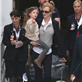 Nicole Kidman arrives with Russell Crowe and daughters and are met by Keith Urban in Sydney  138316