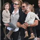 Nicole Kidman arrives with Russell Crowe and daughters and are met by Keith Urban in Sydney  138319