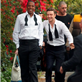 Jay-Z and Justin Timberlake on the set of the music video for Suit and Tie 138367
