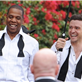 Jay-Z and Justin Timberlake on the set of the music video for Suit and Tie 138389