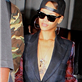 Rihanna leaves the Gansevoort Hotel Park Avenue in New York City 120396