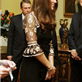 Catherine, Duchess of Cambridge at a reception for the Team GB Olympic and Paralympic medalists at Buckingham Palace 130091