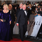 Prince Charles, Prince of Wales and Camilla, Duchess of Cornwall at the Royal World Premiere of Skyfall in London 130106