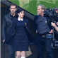 Ryan Reynolds, Jeff Bridges and Mary-Louise Parker filming scenes for the upcoming movie 'R.I.P.D' in downtown Los Angeles 132980