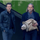 Ryan Reynolds, Jeff Bridges and Mary-Louise Parker filming scenes for the upcoming movie 'R.I.P.D' in downtown Los Angeles 132981