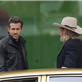 Ryan Reynolds and Jeff Bridges filming scenes for the upcoming movie 'R.I.P.D' in downtown Los Angeles 132984