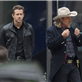 Ryan Reynolds and Jeff Bridges filming scenes for the upcoming movie 'R.I.P.D' in downtown Los Angeles 132985