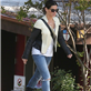 Sandra Bullock picks Louis up from school 150397