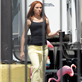 Scarlett Johansson on the set of 'Captain America: The Winter Soldier' in Los Angeles 147623