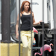 Scarlett Johansson on the set of 'Captain America: The Winter Soldier' in Los Angeles 147625