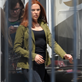 Scarlett Johansson on the set of 'Captain America: The Winter Soldier' in Los Angeles 147626