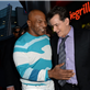 Mike Tyson and Charlie Sheen at the 'Scary Movie 5' premiere in Hollywood  146568