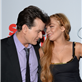 Charlie Sheen and Lindsay Lohan at the 'Scary Movie 5' premiere in Hollywood 146569
