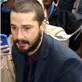 Shia LaBeouf arrives for his appearance on The Late Show with David Letterman  145392