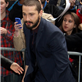 Shia LaBeouf arrives for his appearance on The Late Show with David Letterman  145393
