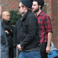 Robert Pattinson leaves his hotel with Tom Sturridge in NYC 128792
