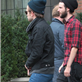 Robert Pattinson leaves his hotel with Tom Sturridge in NYC 128810