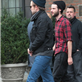 Robert Pattinson leaves his hotel with Tom Sturridge in NYC 128811