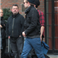 Robert Pattinson leaves his hotel with Tom Sturridge in NYC 128812