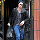 Robert Pattinson leaves his hotel in NYC 128815