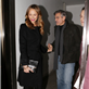 George Clooney and Stacy Keibler leaving Grill Royal restaurant in Berlin 144403