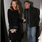 George Clooney and Stacy Keibler leaving Grill Royal restaurant in Berlin 144404