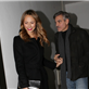 George Clooney and Stacy Keibler leaving Grill Royal restaurant in Berlin 144405