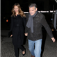 George Clooney and Stacy Keibler leaving Grill Royal restaurant in Berlin 144408