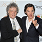Tom Stoppard and Benedict Cumberbatch at The 39th Broadcasting Press Guild (BPG) Television and Radio Awards 143798